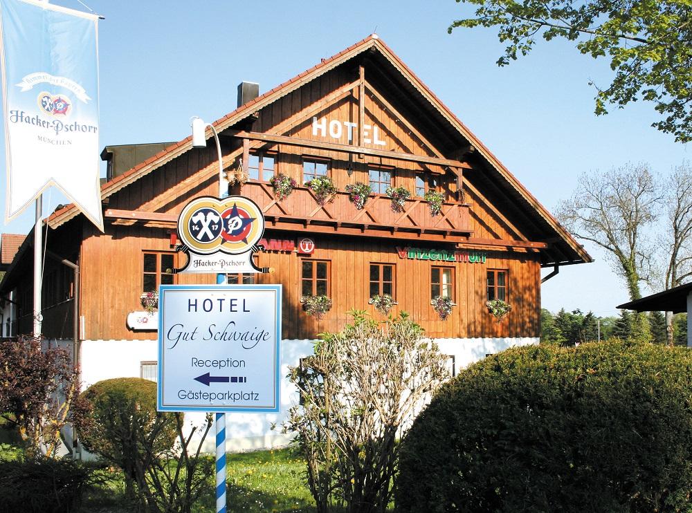 Hotel Gut Schwaige Außenansicht